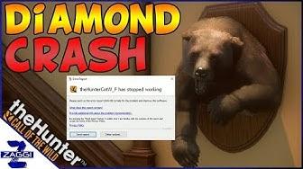 Game Crash on a Diamond Bear | TheHunter Call of the Wild