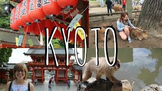 Shrines, deer, & monkeys in KYOTO, NARA, IWATAYAMA | Japan vlog 3