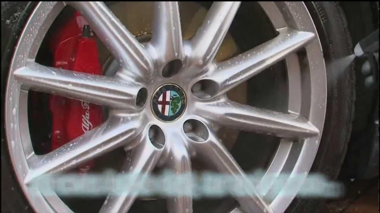Limpia Llantas 3M Guía de aplicación Wheel & Tire Cleaner