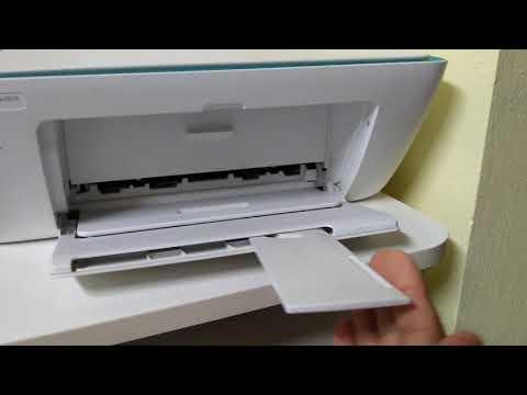 Como fechar a tampa da impressora HP