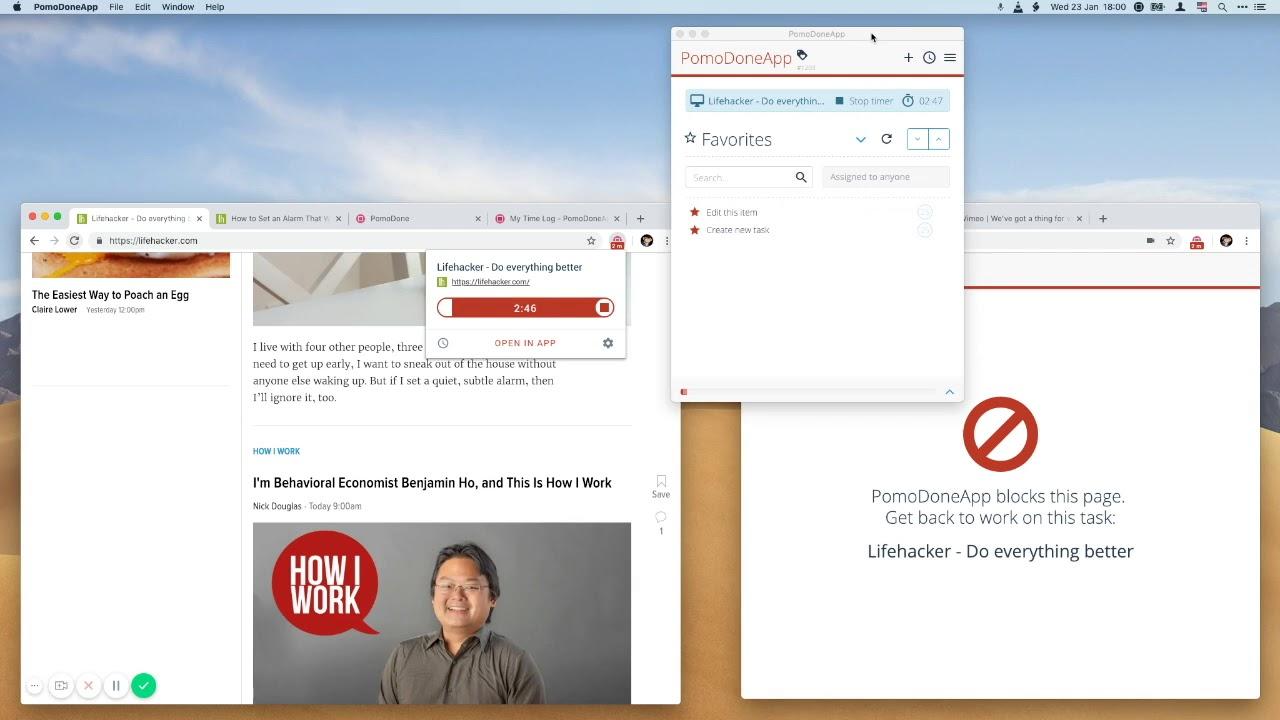 Brand New PomoDone Chrome Extension: P1