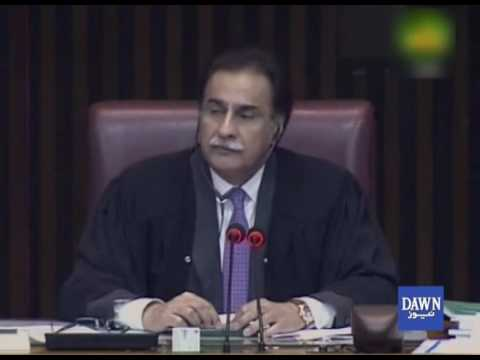 Ruckus in National Assembly as Ayaz Sadiq turns down