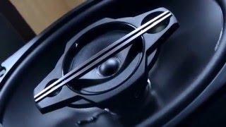 Колонки автомобильные JVC CS-HX6949 обзор и тест.