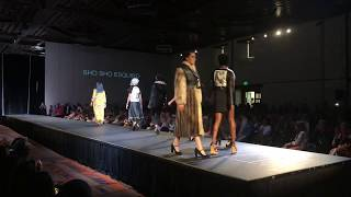 Santa Fe Indian Market 2018 - Haute Couture Fashion Show - Sho Sho Esquiro