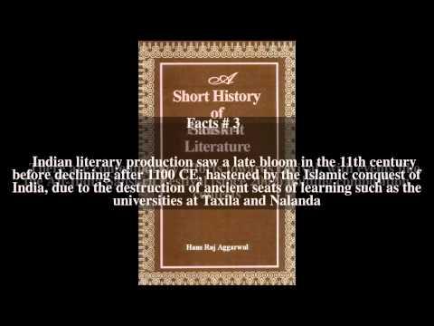 Sanskrit literature Top # 6 Facts