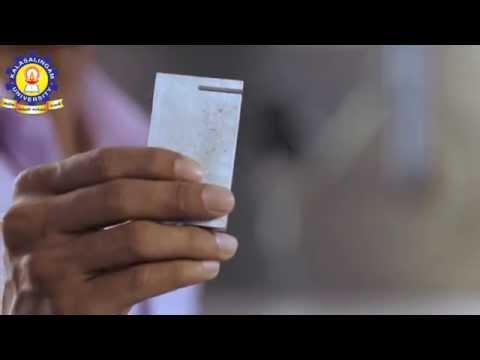 Kalasalingam University - The Power of Water Jet Cutter