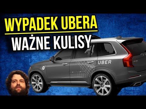 Samochód Autonomiczny Uber w USA Potrącił Kobietę - Jest Film z Zajścia - CO ZAWIODŁO? - Komentator