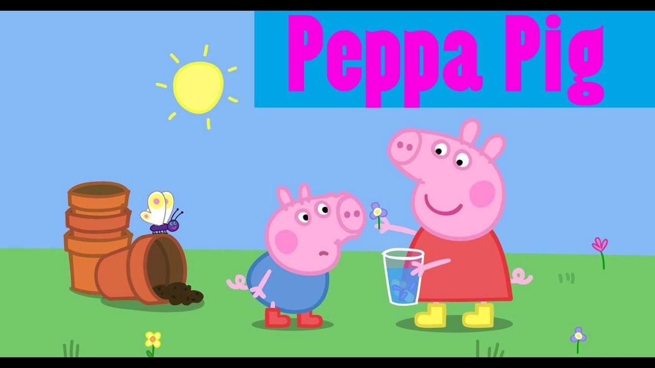 Раскраска Свинка пеппа peppa pig - YouTube