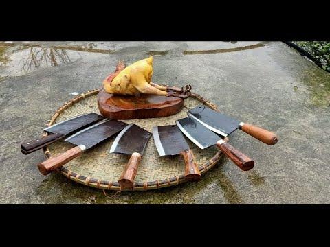 Những Con Dao Chặt Thịt Gà Vịt Tốt Và Rẻ Nhất Dao Phúc Sen HD - Phần 1
