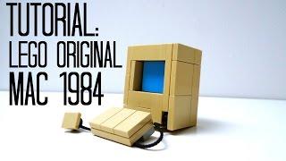 Tutorial - Lego Apple Mac Computer (1984)