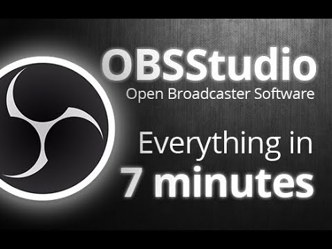OBS Studio - Tutorial for Beginners in 7 MINUTES! [ 2021 version ]