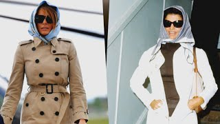 President Trump Compares Wife to Jackie O