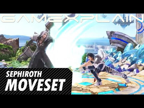 Sakurai Breaks Down Sephiroth's Moveset & Final Smash! (Sakurai Presents)