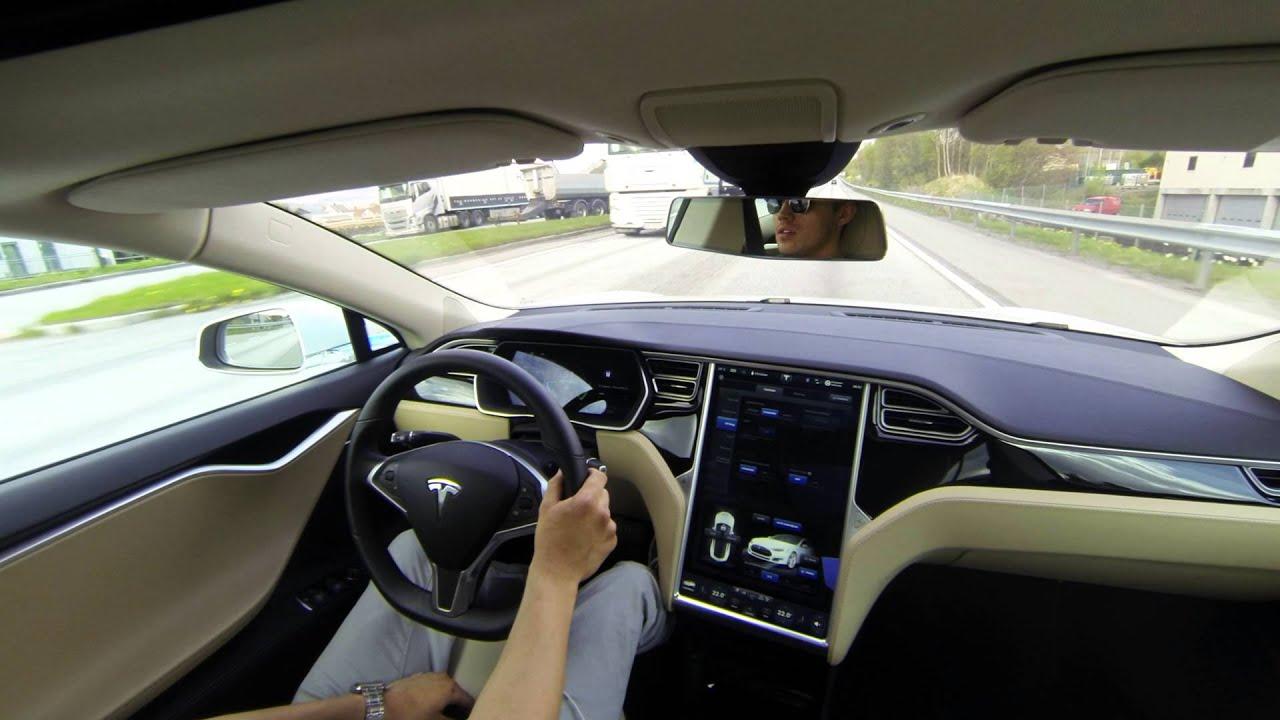 Electric Cars Tesla Acceleration Slipstart