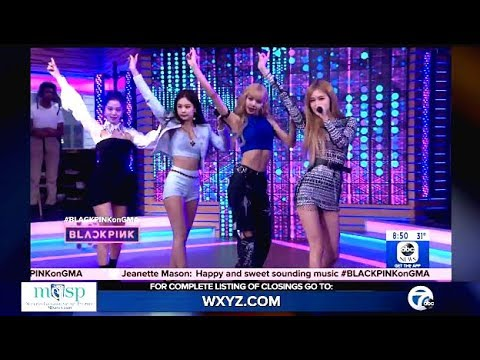 BlackPink Performs 'Ddu-du Ddu-du' Live On (GMA)