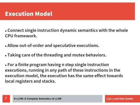 K-LLVM: A Relatively Complete Semantics of LLVM IR