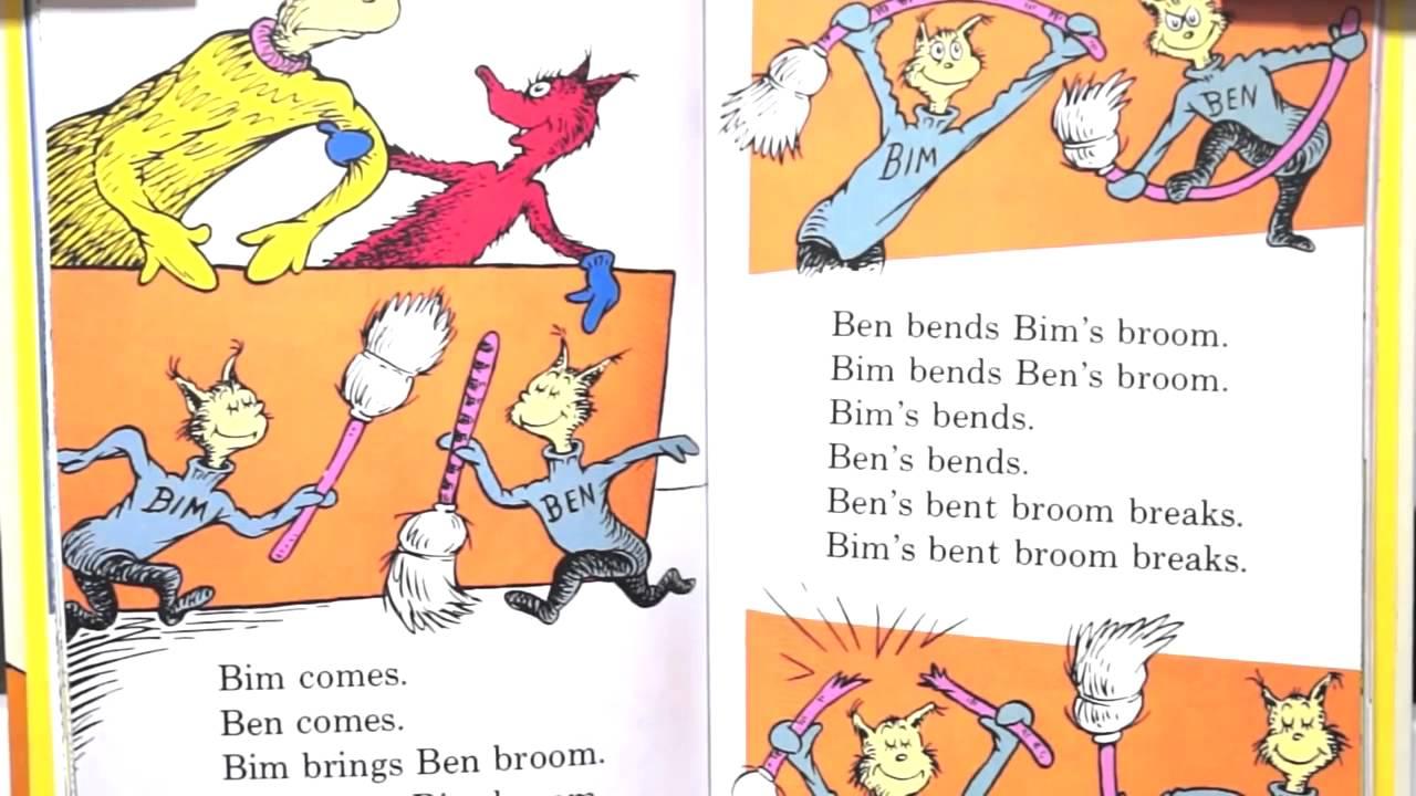 Dr Seuss' Fox in Socks Phonological Awareness - YouTube