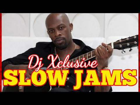 90'S BEST SLOW JAMS MIX ~ MIXED BY DJ XCLUSIVE G2B - Whitney Houston, Keith Sweat, R. Kelly & More