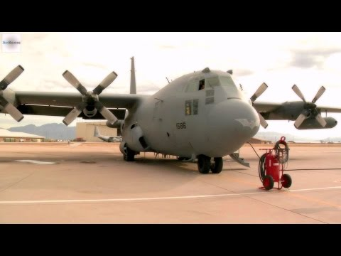 C-130s and Maintainers. Davis-Monthan Air Force Base.