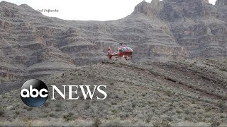 Helicopter crash in Grand Canyon kills 3