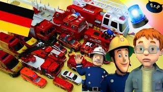 Feuerwehrmann Sam RIESIGE Spielzeugauto Sammlung Deutsch mit Norman Price, Elvis 2017