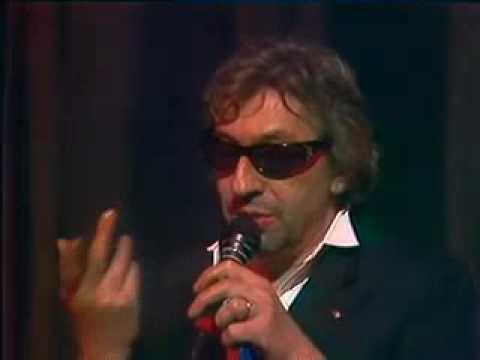 Serge Gainsbourg - Ecce homo (Live) - 1981
