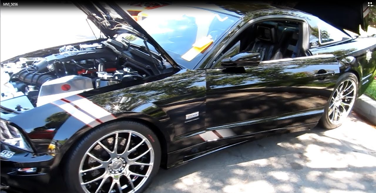 2006 Saleen Ford Mustang 475 HP  YouTube