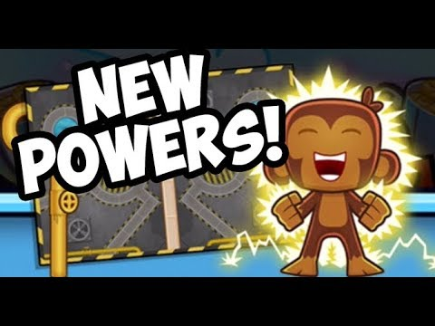 CRAZY NEW UPDATE!! - NEW POWERS - Bloons TD Battles