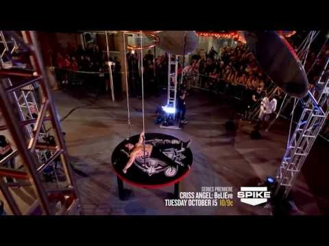 Criss Angel BeLIEve: 11 Weeks. 11 Epic Illusions. On Spike