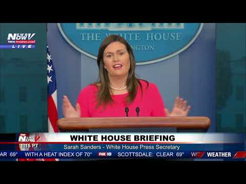 FULL BRIEFING: Sarah Sanders - First White House Briefing of 2019