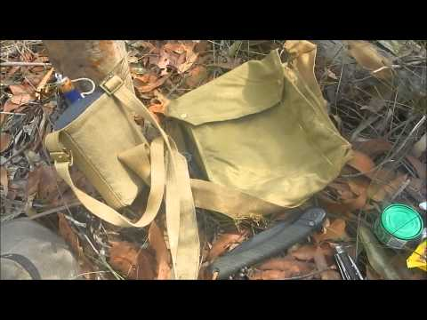 Australian Bushcraft Scout Haversack Load Out