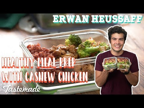 Healthy Meal Prep With Cashew Chicken I Erwan Heussaff