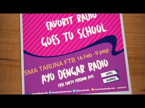 Favorit goes to school SMA Taruna Mandiri Fatubenao atambua