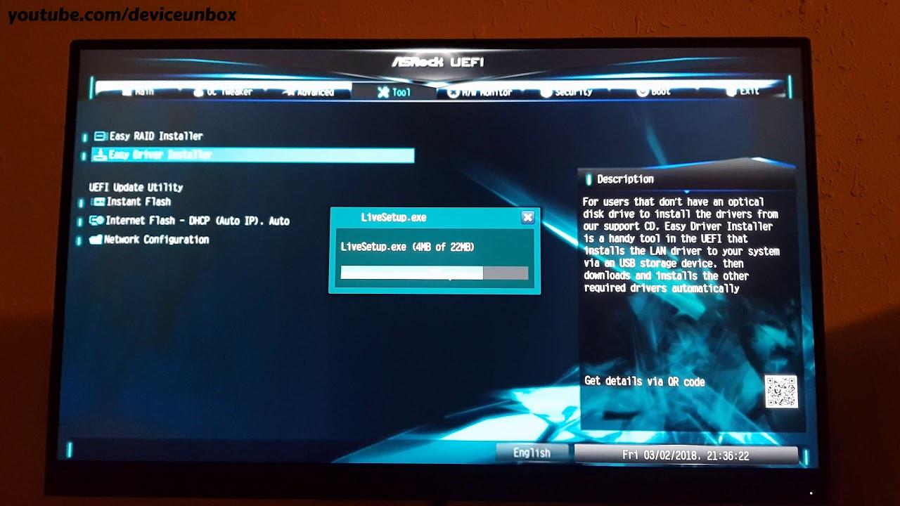 Easy driver install Asrock ab35m hdv