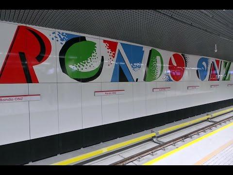 Okiem Reportera 95. Otwarty dzień II lini metra. Stacja Rondo ONZ.