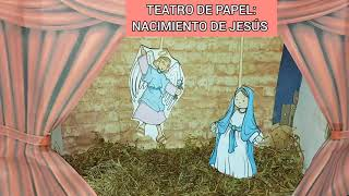 COMO HACER TEATRO DE PAPEL -Nacimiento de Jesús