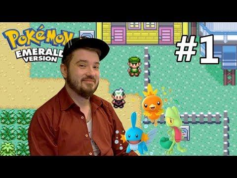 Český Let's play - Pokemon Emerald  - #1 Volím si tebe !