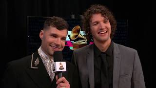 For KING & COUNTRY One-On-One Interview | 2020 GRAMMYs