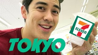 Why the 7-11 in Japan is Amazing - November 23, 2015 -  ItsJudysLife Vlogs