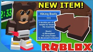 HOW TO GET HIKING BOOTS IN ROBLOX BEE SWARM SIMULATOR