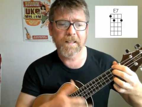 Ukulele When You\'re Smiling with Chords and Beard - YouTube