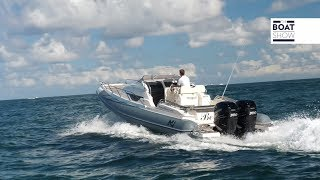 [ENG] NUOVA JOLLY 33 SPORT CABIN - 4K Full Review - The Boat Show