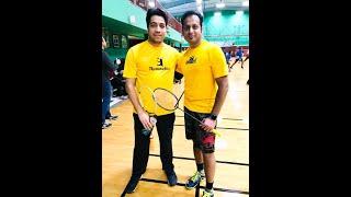 NEMA2020 Badminton -Sreekesh NK & Bharat Arora- Set 2/2