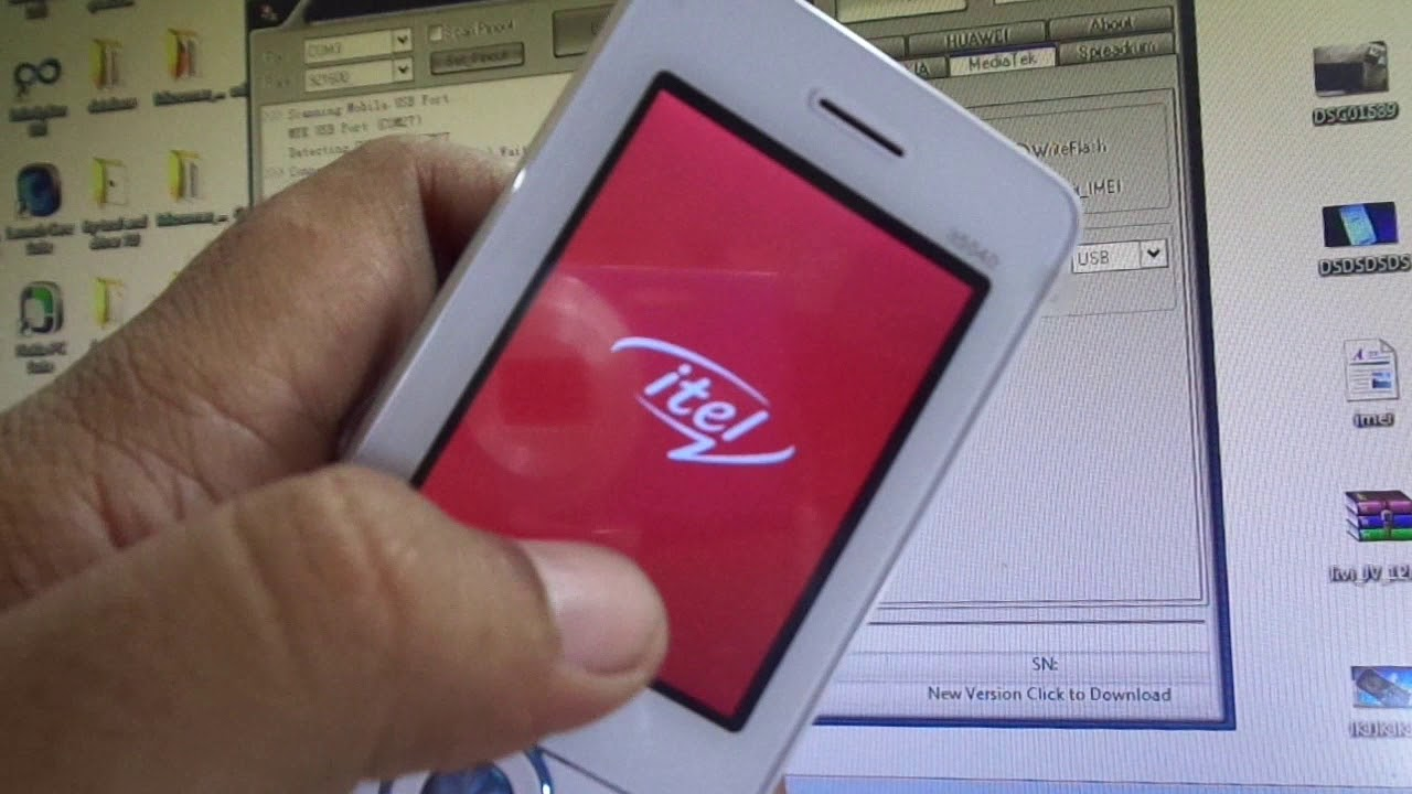 itel mobile it5040 flashing and remove phonelock