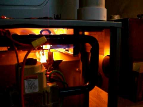 Rheem Criterion Furnace Flame Rollout On Ignition Youtube