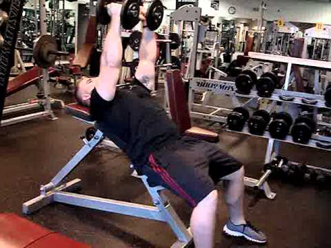 Dumbbell Incline Chest Flys