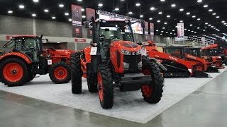 Kubota Exhibit at the 2016 National Farm Machinery Show