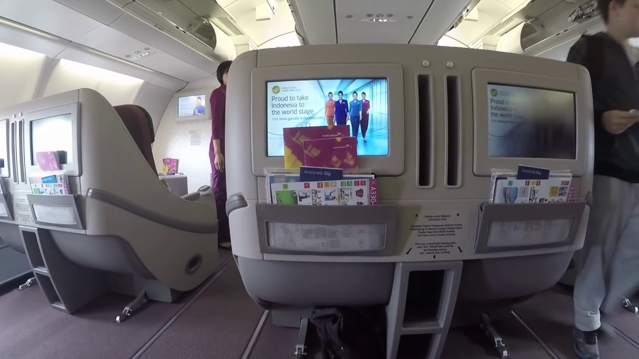 Garuda Indonesia Business Class A330 200 Syd To Dps Review