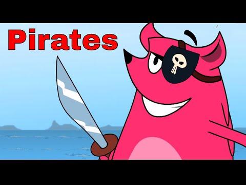Pirates Ep - 24 - Pyaar Mohabbat Happy Lucky - Funny Hindi Cartoon Show - Zee Kids