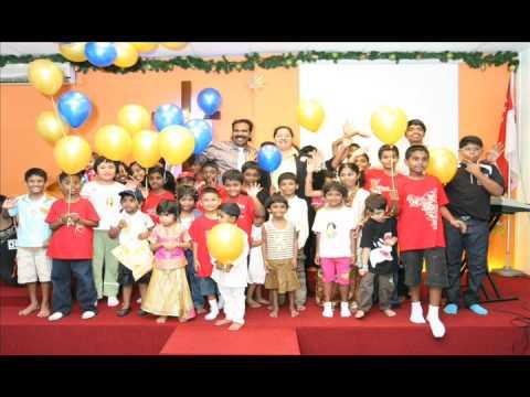 Rev.Christopher Devadass El-Shaddai Ministries Singapore - CHILDREN DAY 2009